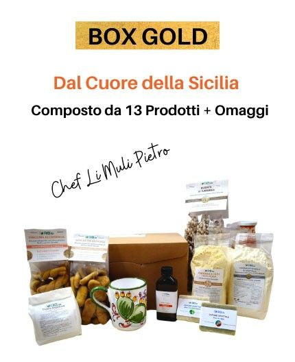Box Gold By Chef Pietro Li Muli