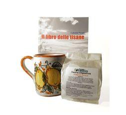Box libro delle Tisane + tisana siciliana