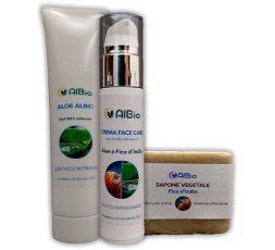 Trattamento viso Dry, pelle secca, rugosa, super idratante, lenitivo, acido ialuronico, aloe, fico d'india, mucillagine vegetale