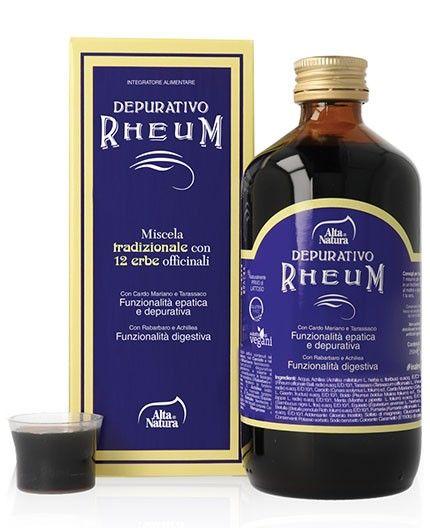 Depurativo naturale Rheum miscela tradizionale di 12 erbe officinali